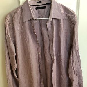 Kenneth Cole striped button up